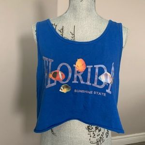 Tops - Vintage Florida crop